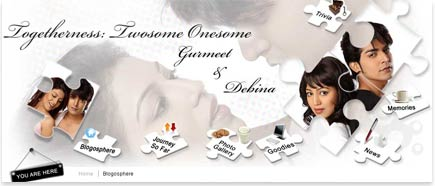 Gurmeet and Debina Blog