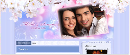 Mohit and Sanaya's Blog